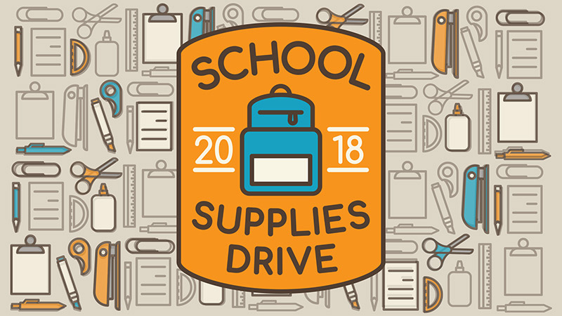 School Supplies Drive - Woodland Hills Church